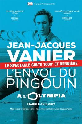 Jean-Jacques Vanier à l'Olympia le 6 juin 2017