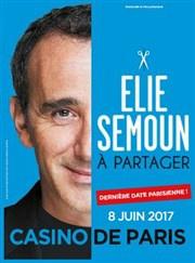 Elie Semoun le 8 juin 2017 au Casino de Paris