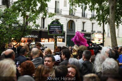 Inauguration de la Promenade Coccinelle
