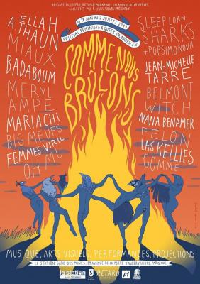Festival Comme nous brûlons à la Gare des Mines
