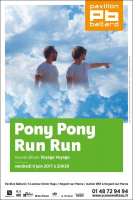 Pony Pony Run Run en concert au Pavillon Baltard