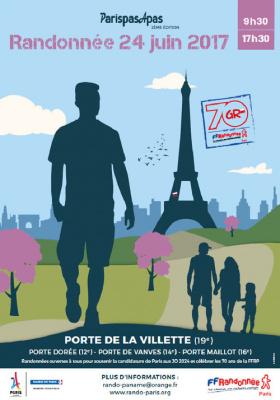 Randonnées dans Paris pour les JO 2024 !
