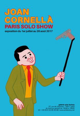 Expo Joan Cornellà à la Galerie Arts Factory
