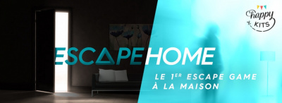Escape home : le 1er escape game à la maison