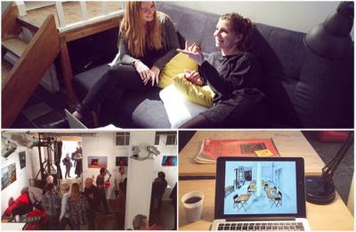 Nouvel espace de coworking dédié aux artistes