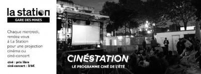 CinéStation tout l'été à la Gare des Mines