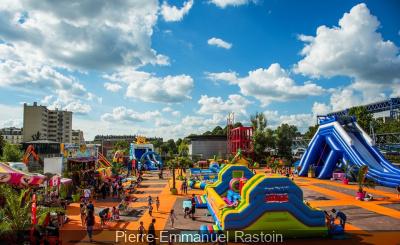 Europa Kids : village gonflable au Parc de la Villette
