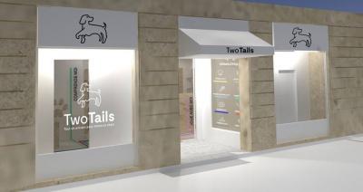 Two Tails, pour chiens et chats, ouvrira prochainement à Paris
