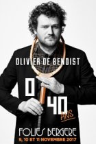Olivier de Benoist 0/40 aux Folies Bergères en novembre 2017
