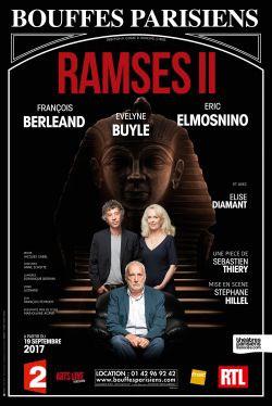 Ramses II aux Bouffes Parisiens en septembre 2017