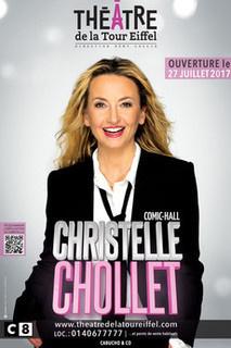 """Christelle Chollet au Théâtre de la Tour Eiffel avec """"Comic Hall"""""""