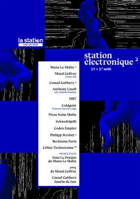 Station électronique² à la Station - Gare des mines