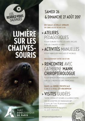 Lumières sur les chauve-souris au Parc Zoologique de Paris