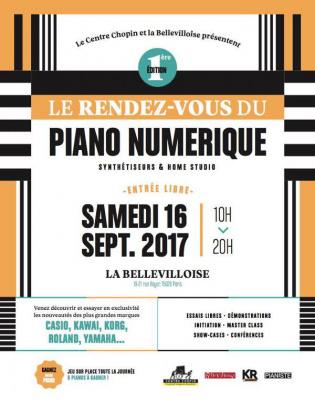 Le rendez-vous du piano numérique : 1ère édition à la Bellevilloise