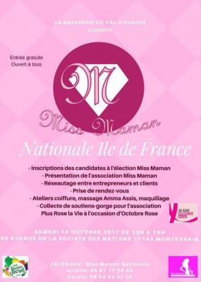 Miss Maman nationale Île-de-France au Val d'Europe
