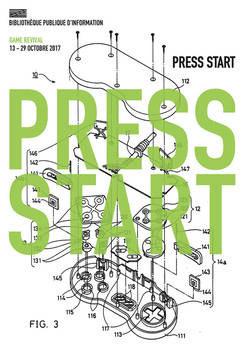 Press start : Game revival à la BPI du Centre Pompidou