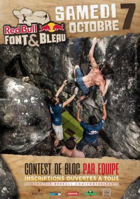 Red Bull Font&Bleau 2017 : Finale de bloc dans la Forêt de Fontainebleau !
