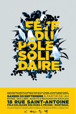 Fête du Pôle solidaire à Montreuil !