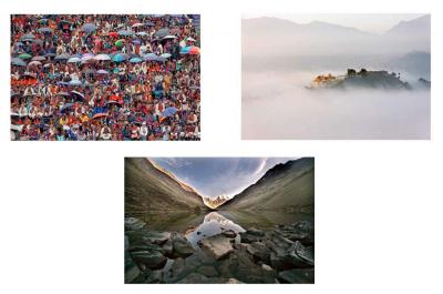 Exposition Un demi-siècle dans l'Himalaya à la Librairie La Hune
