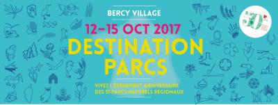 Destination Parcs : les parcs régionaux s'installent à Bercy Village !