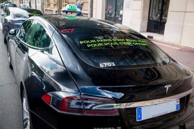 Le 1er octobre, G7 vous transporte gratuitement en Tesla !