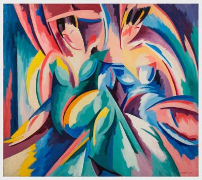 Exposition Magnelli et la peinture inventée à la Galerie Boulakia