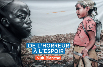 Nuit blanche 2017 : le street art et la photographie s'unissent pour la bonne cause
