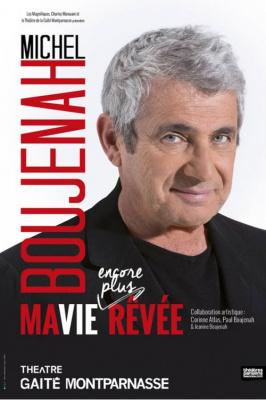 Michel Boujenah à la Gaité Montparnasse