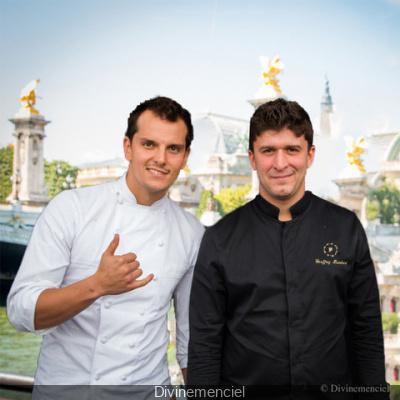 Juan Arbelaez et Geoffrey Rembert en show culinaire au Flow !