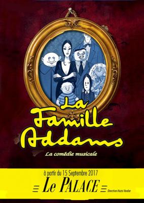 La famille Addams : la comédie musicale au Théâtre du Palace