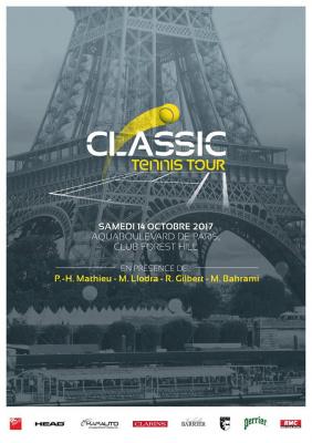 Classic Tennis Tour à Aquaboulevard ce samedi 14 octobre
