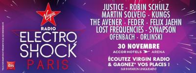 Electroshock de retour au Zénith de Paris en octobre 2016