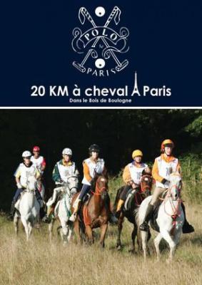 Les 20km à cheval dans Paris