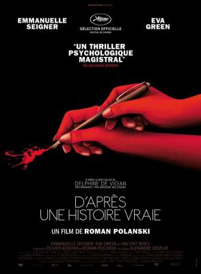 D'après une histoire vraie, de Roman Polanski, bientôt au cinéma