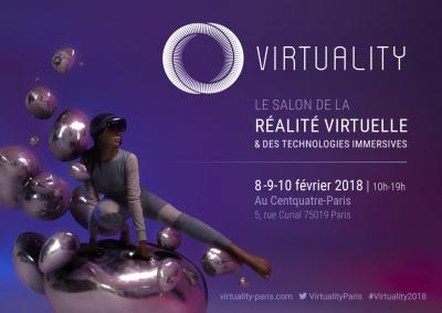 Virtuality 2018 : Le salon de la réalité virtuelle