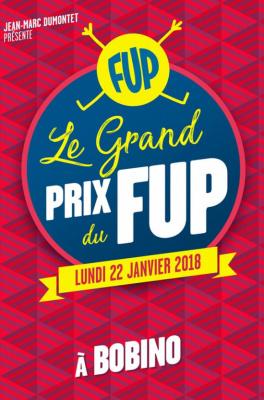 Le FUP, Festival d'Humour de Paris, revient en janvier 2018