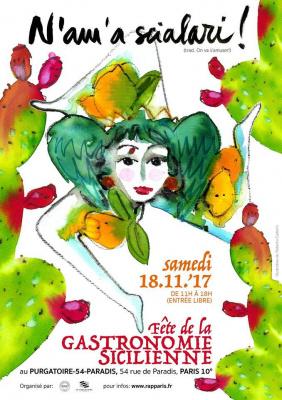 Fête de la gastronomie sicilienne à Paris