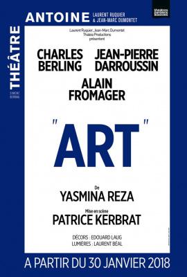 Art de Yasmina Reza au Théâtre Antoine