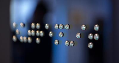 Expo A la lumière du braille à la Médiathèque de Montrouge