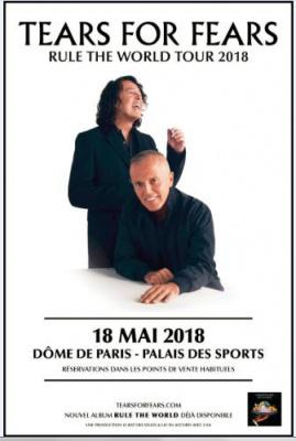 Tears for Fears au Palais des Sports en 2018