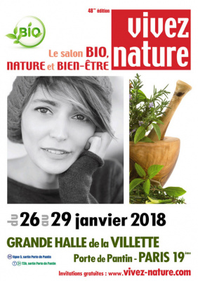 Le Salon Vivez Nature Paris 2018 à la Villette