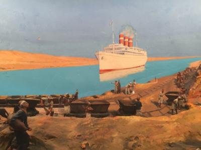 L'épopée du Canal de Suez : expo à l'Institut du Monde Arabe