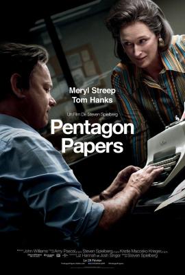 Pentagon Papers : le nouveau film de Steven Spielberg