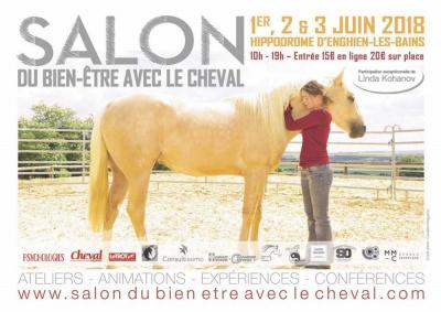 Salon du bien tre avec le cheval enghien les bains for Salon bien etre paris