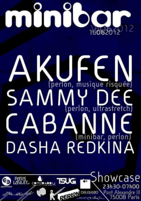 MINIBAR NIGHT : AKUFEN & SAMMY DEE