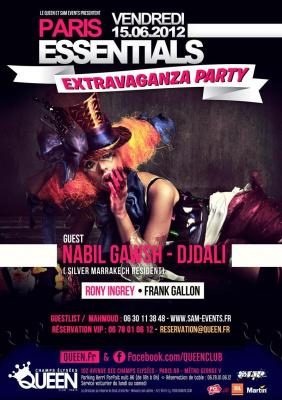 PARIS ESSENTIALS - Extravaganza Party