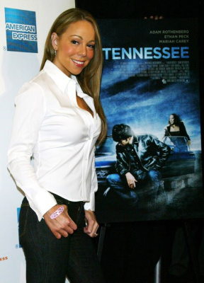 Mariah Carey at the premiere of 'Tennessee', which took place at the 7th Annual Tribeca Film Festival in the Borough of Manhattan Community College, Tribeca Performing Arts Center, in New York.