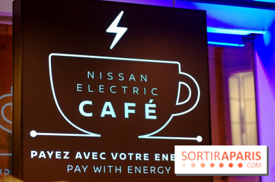Nissan Electric Café à Paris