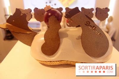 Bûche et chocolats de Noël chez Dalloyau