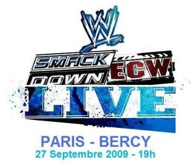 Smackdown/ECW Live à Bercy